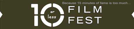 10 Or Less Film Festival logo just featuring text
