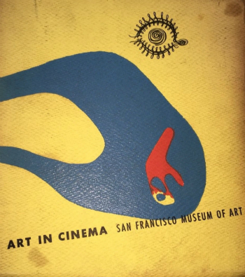 Cover to the Art in Cinema program book