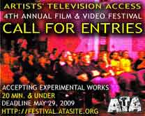 2009 ATA Film & Video Festival Call for Entries