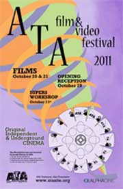 Film festival poster featuring abstract drawings