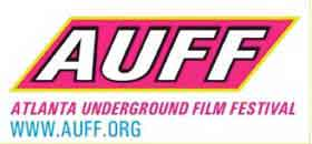 Logo for the Atlanta Underground Film Festival