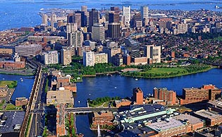 Photo overview of Boston, Massachusetts