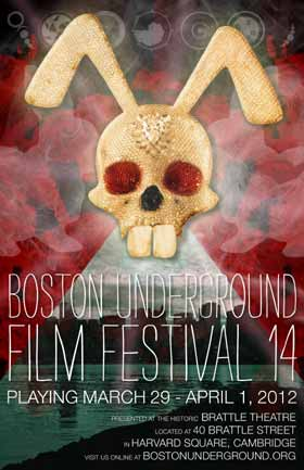 Boston Underground Film Festival poster 2012