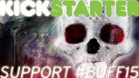 Logo of the Boston Underground bunny for Kickstarter