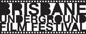 Logo for Brisbane Underground Film Festival