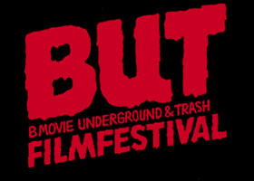 Text logo for the B-movie, Underground and Trash Film Festival