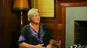 Denise Crosby sit-down interview still