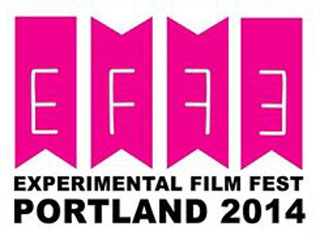 Flag logo for the Experimental Film Festival Portland