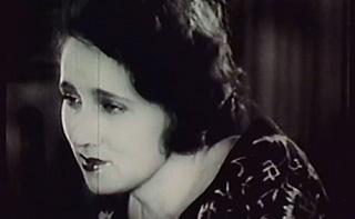 Silent film actress