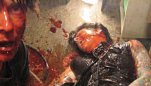Victim eaten by zombie