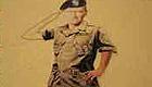 Green Beret John Wayne saluting