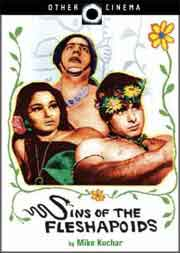 DVD cover of Sins of the Fleshapoids featuring the main actors