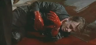 Tim Roth bleeding to death in Reservoir Dogs