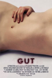 Gut movie poster of a woman's bare abdomen