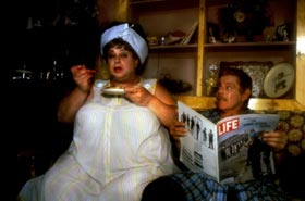Divine and Jerry Stiller in Hairspray