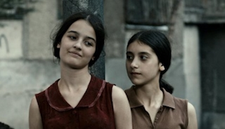 Two 14-year-old Georgian girls