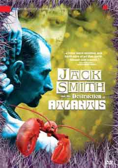 DVD cover featuring a blue tinted Jack Smith and a lobster