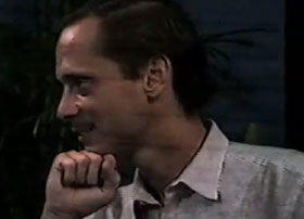 John Waters circa 1984 on public access tv