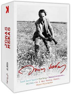 Jonas Mekas DVD box set cover