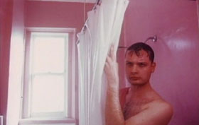 George Kuchar in the shower in Hold Me When I'm Naked