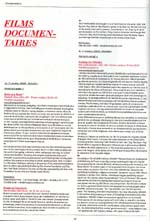 All text film festival program scan