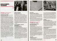 Film festival program scan featuring Pandrogeny Manifesto