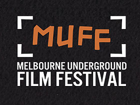 Plain text logo for the Melbourne Underground Film Festival