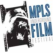 Film festival logo featuring a screaming gorilla