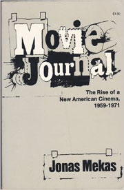 Cover to Jonas Mekas's book Movie Journal