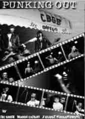 Exterior of CBGB with documentary film strips