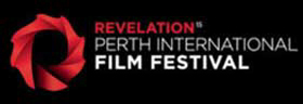 Red logo for Revelation Perth International Film Festival