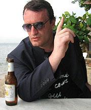 Richard Wolstencroft giving an interview
