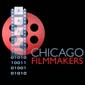Film reel and film strip logo of Chicago Filmmakers