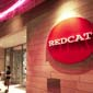 Exterior sign at the entrance to the REDCAT Theater