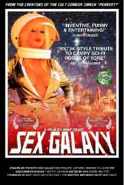 Movie poster featuring a sexy female astronaut