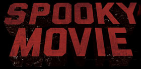 Text logo for Spooky Movie International Film Festival