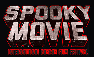 Text logo for the Spooky Movie International Horror Film Festival