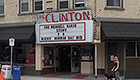 Exterior marquee of the Clinton Street Theater