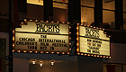 Marquee for the Facets Cinematheque in Chicago, Illinois