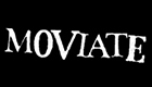 Black and white logo for Moviate