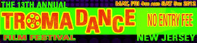Text logo for TromaDance