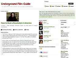Underground Film Guide